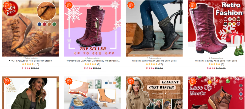 Shopglows scam store