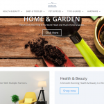 Costor Store homepage image of beauty products