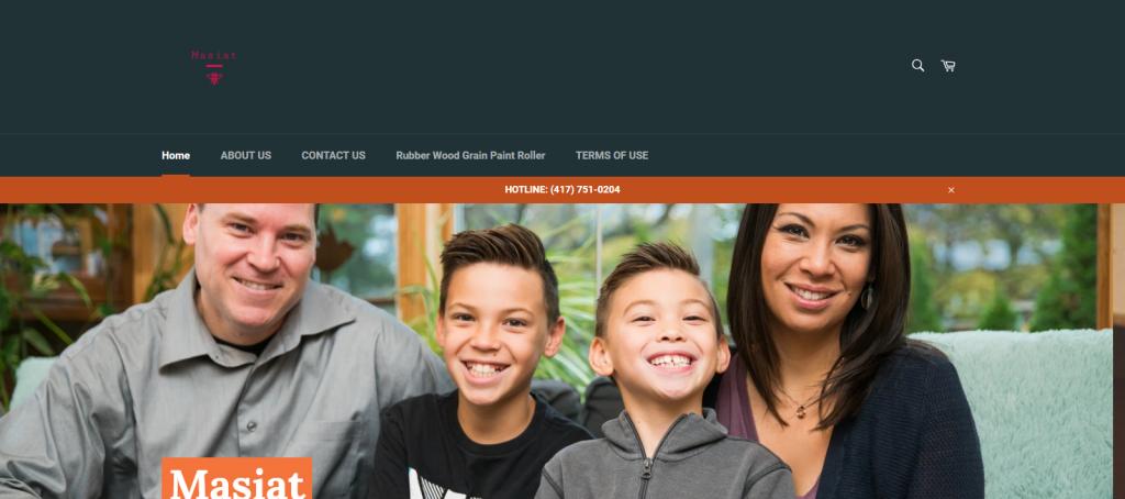 masiat homepage image