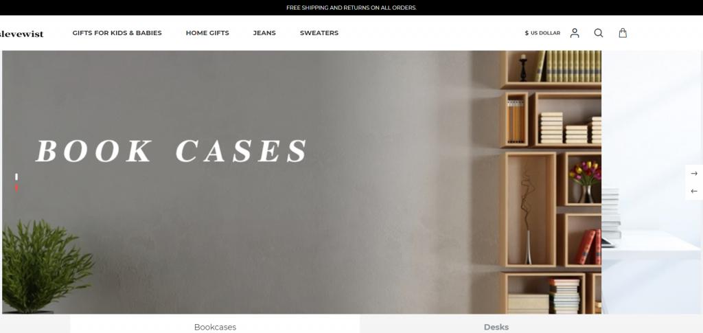 Slevewist Homepage image