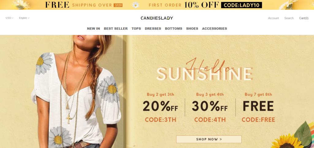 Candieslady Homepage Image
