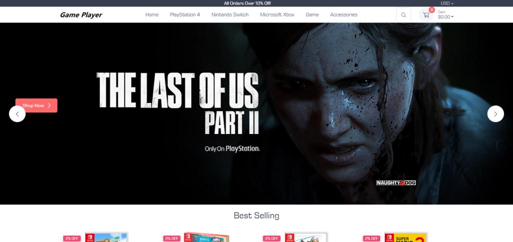 Zerodropstore Homepage Image