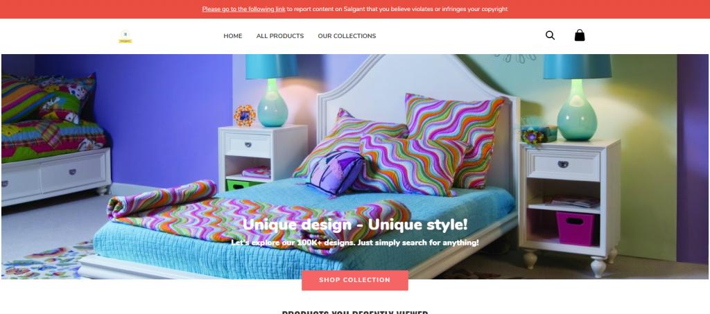 Salgant Homepage Image