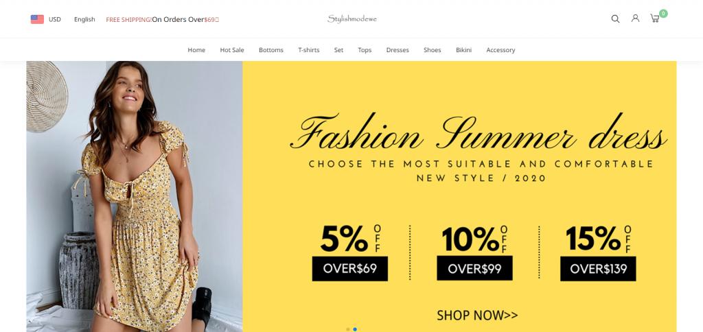 Stylishmodewe Homepage Image