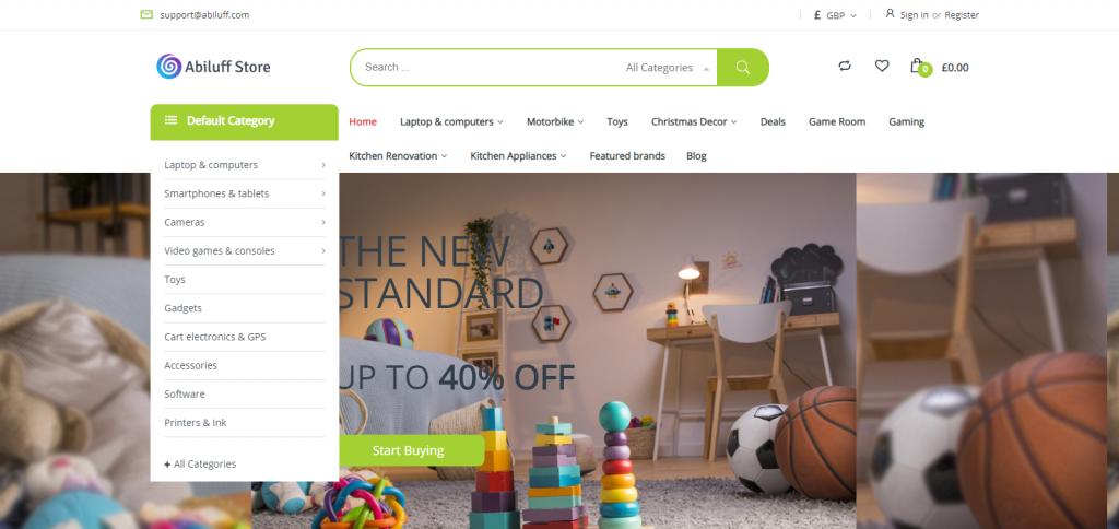 Abiluff Homepage Image