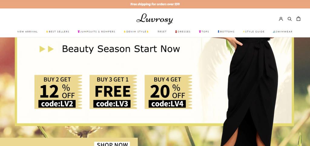 Luvrosy homepage image