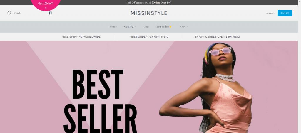 Missinstyle Homepage Image