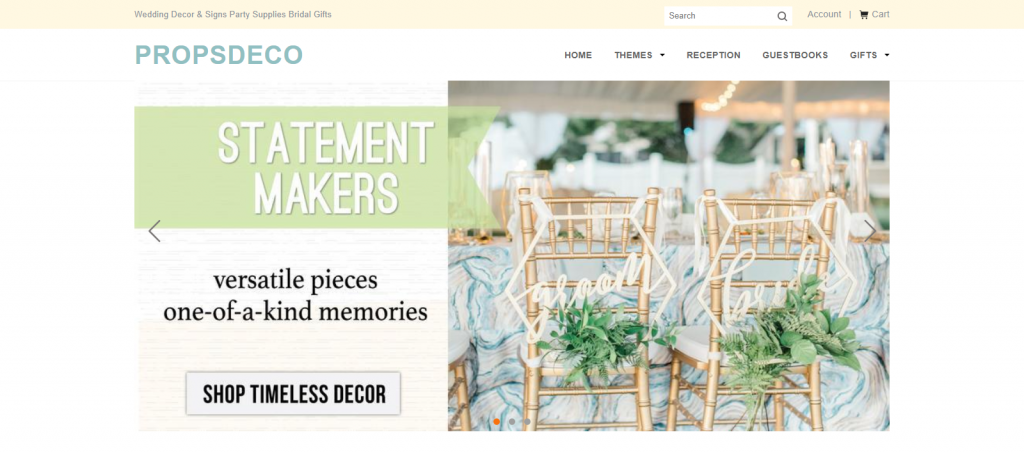 Propsdeco Homepage Image