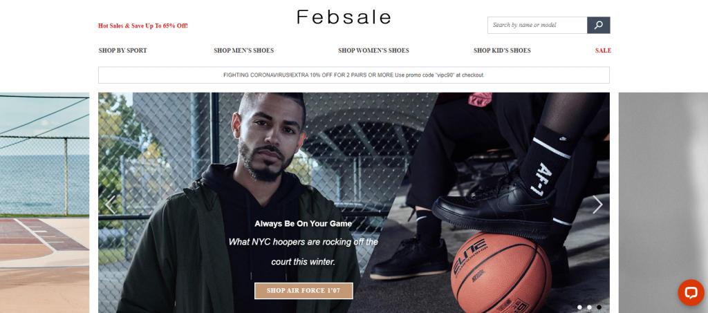 Febsale Homepage Image