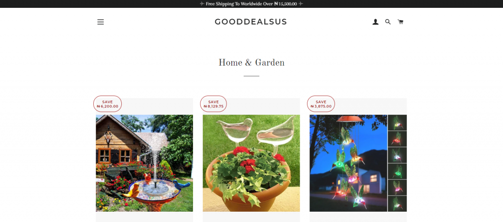 Gooddealsus Homepage Image