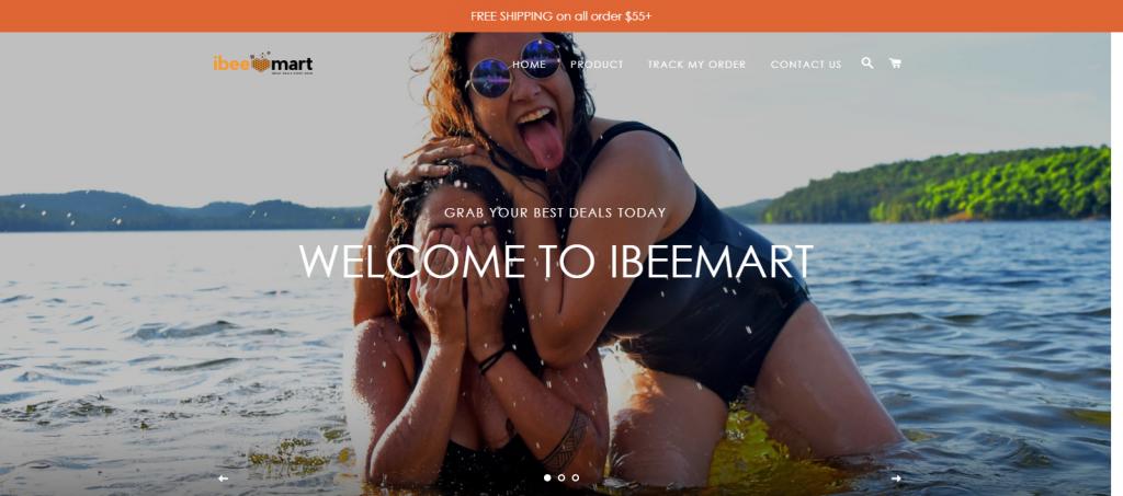 Ibeemart Homepage Image