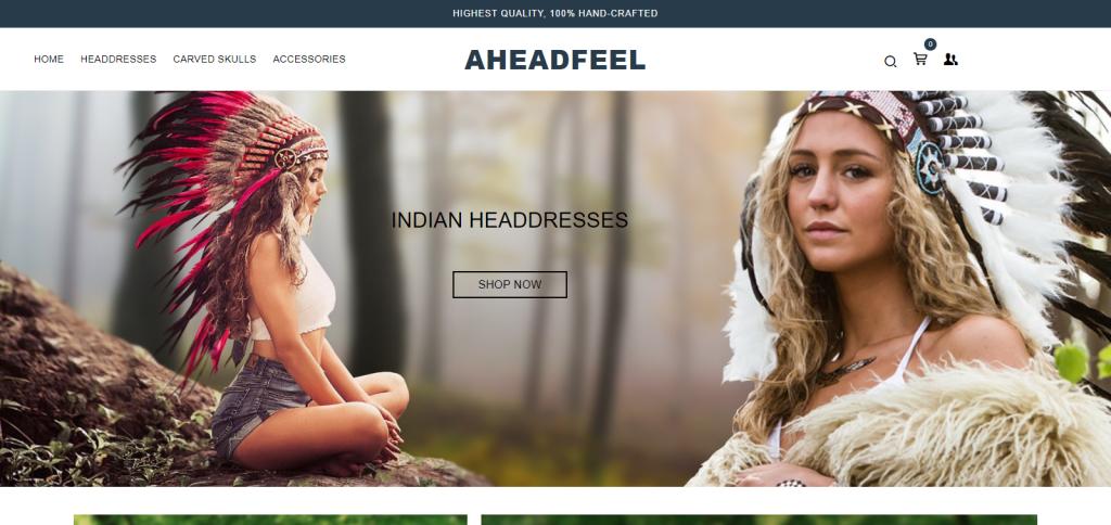 Aheadfeel Homepage Image