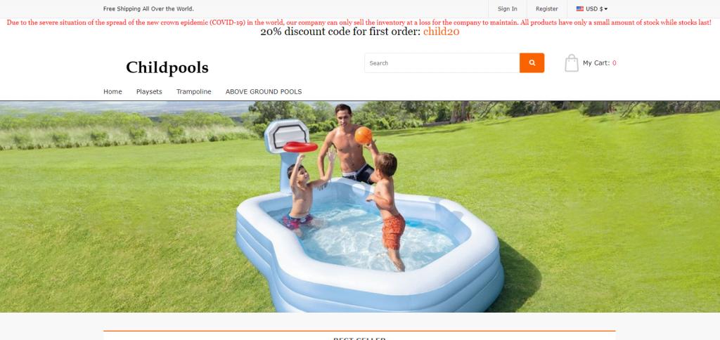 Childpools Homepage Image