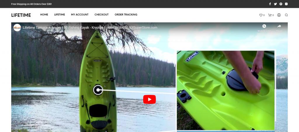 SeashopSpace Homepage Image