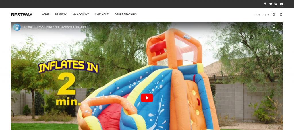 Bestway Homepage Image