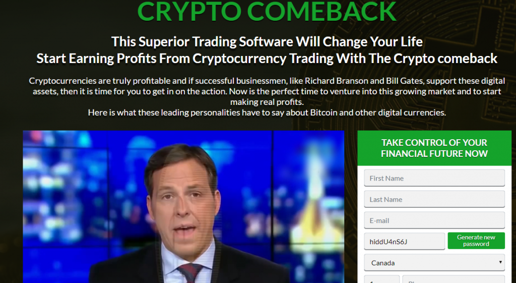CryptoComeback Review
