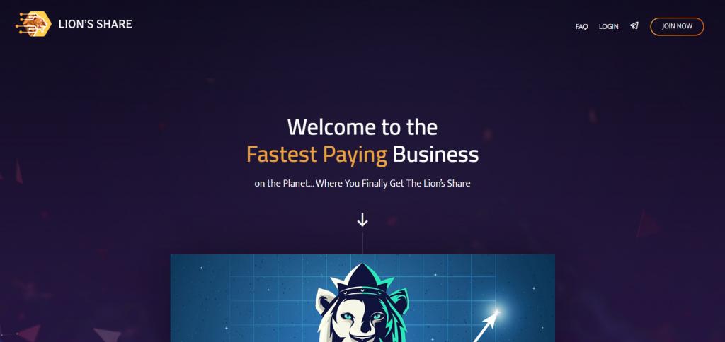 LionsShare Homepage Image