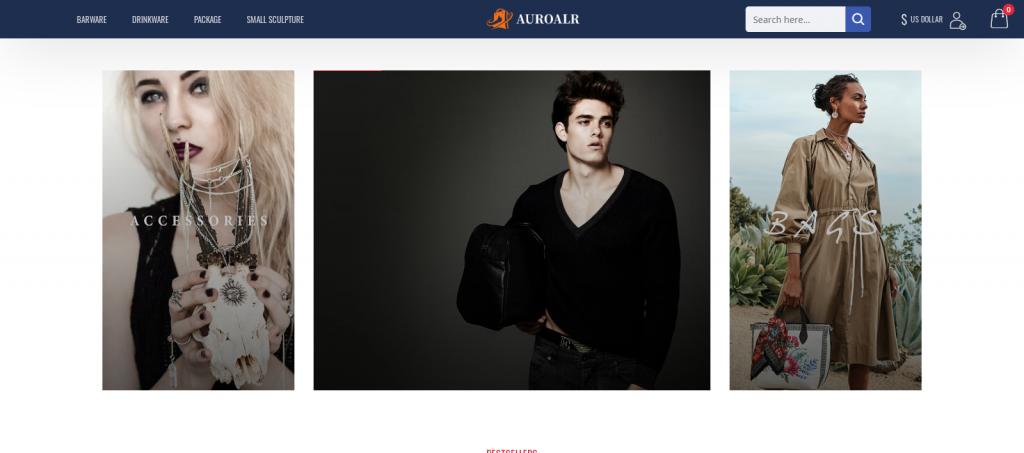 Auroalr Homepage Image