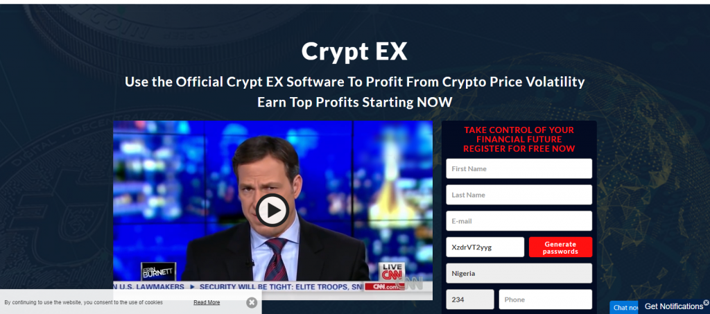 Cryptex Homepage Image