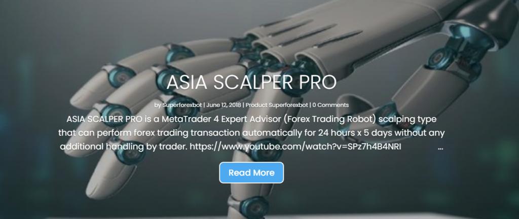 Super Forex Bot Homepage Image
