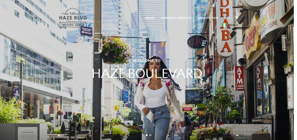 hazeboulevard Homepage Image