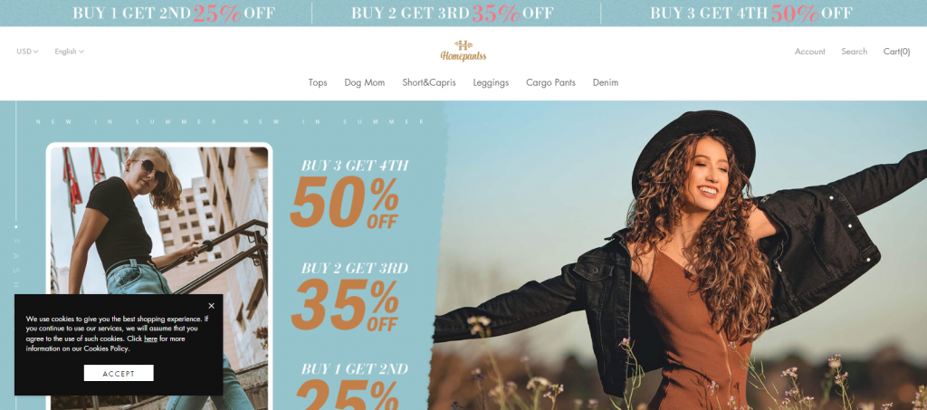 Homepantss Homepage Image
