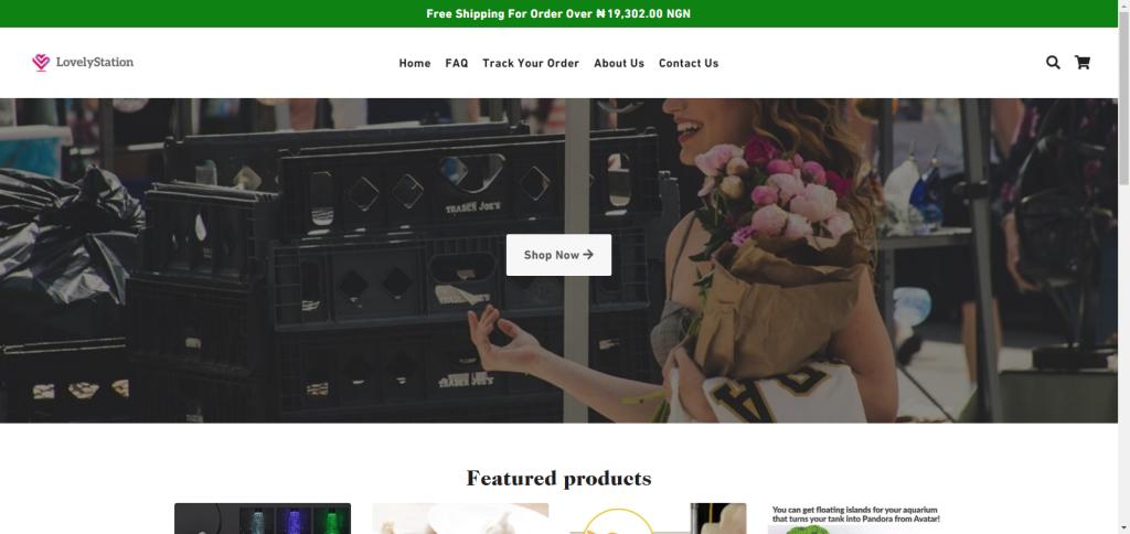 Lovelystation Homepage Image