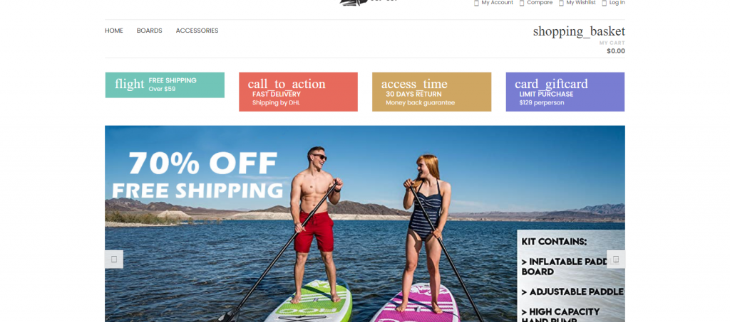 VipPaddleboardsroc Homepage Image