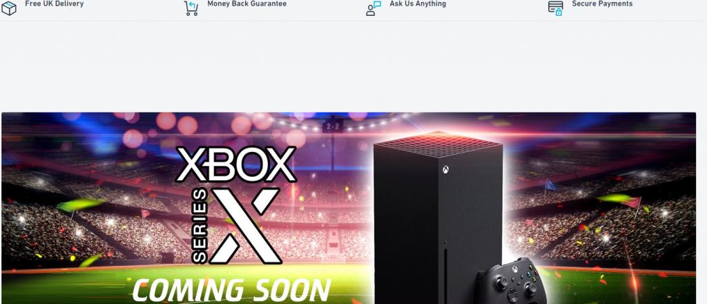 Shoponix Homepage Image