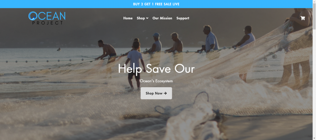 Oceanproject Homepage Image
