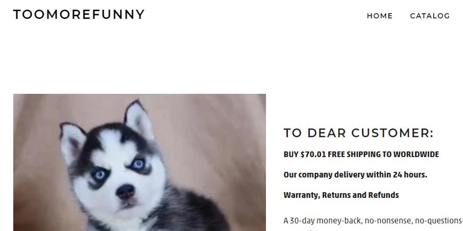 Toomorefunny Homepage Image