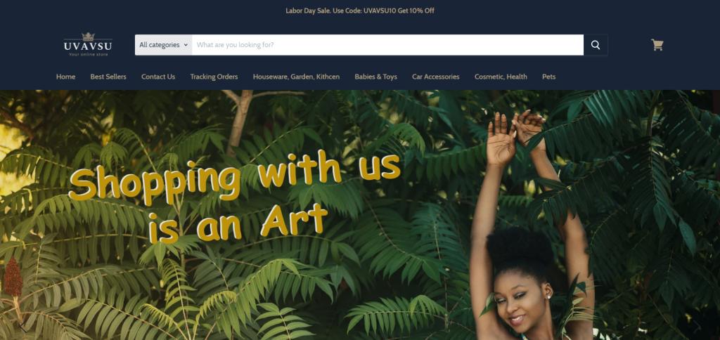 Uvavsu Homepage Image
