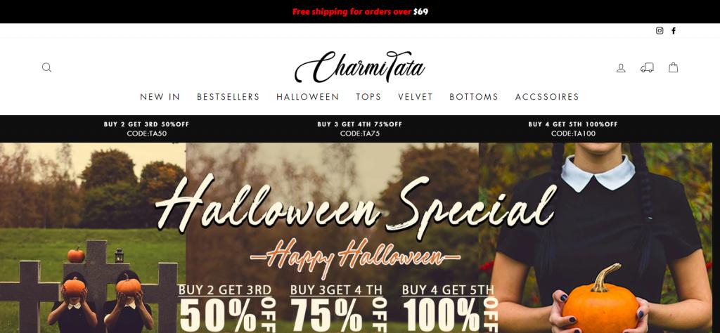 Charmitata Homepage Image