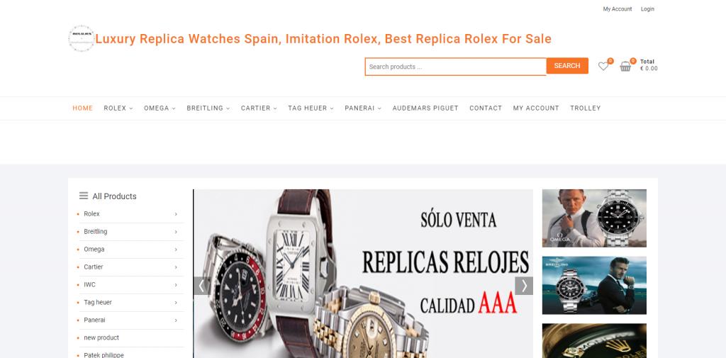 Esreplicasrelojes Homepage Image