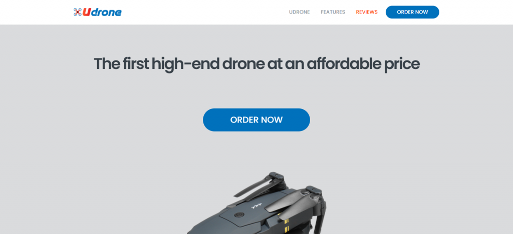 Buy Udrone Homepage Image