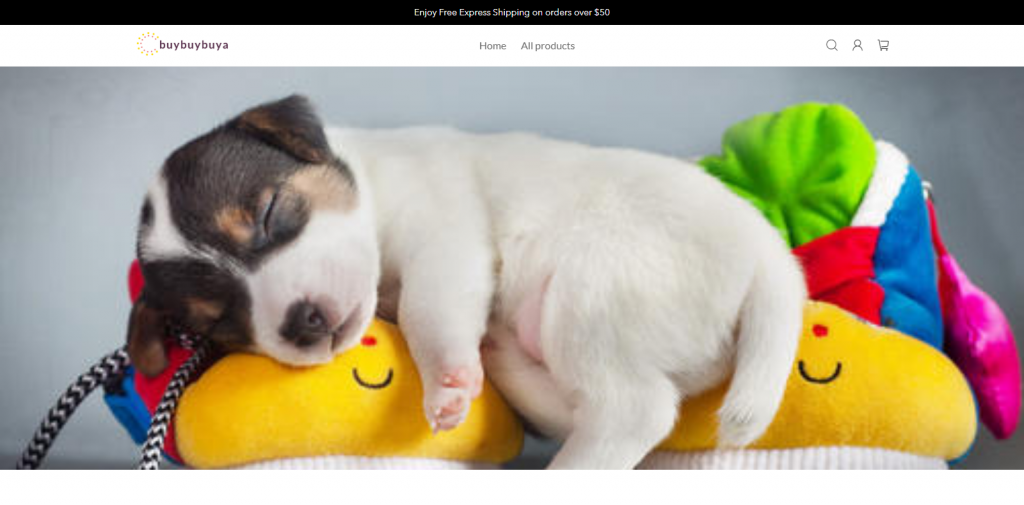 Buybuybuy Homepage Image