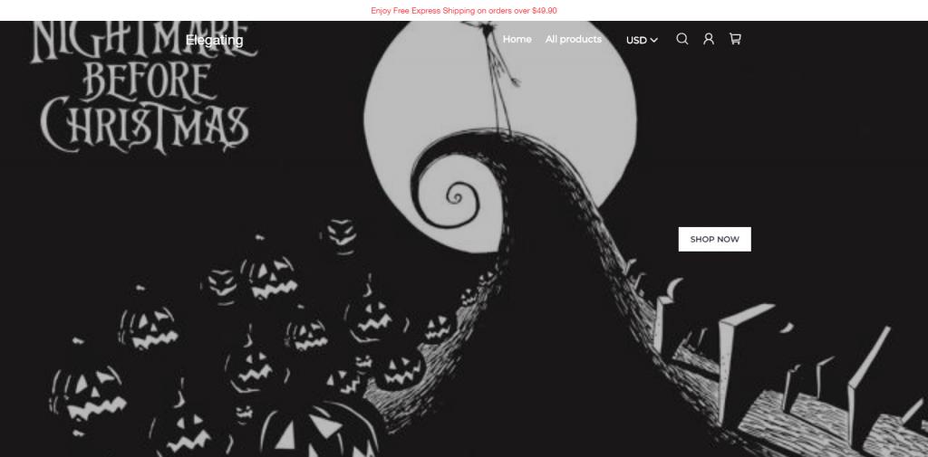 Elegating Homepage Image