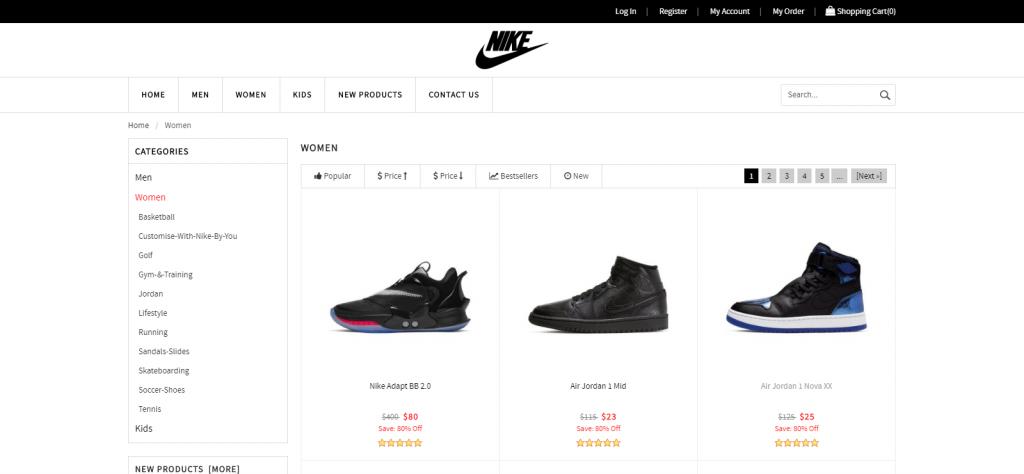 Shownkse Homepage Image