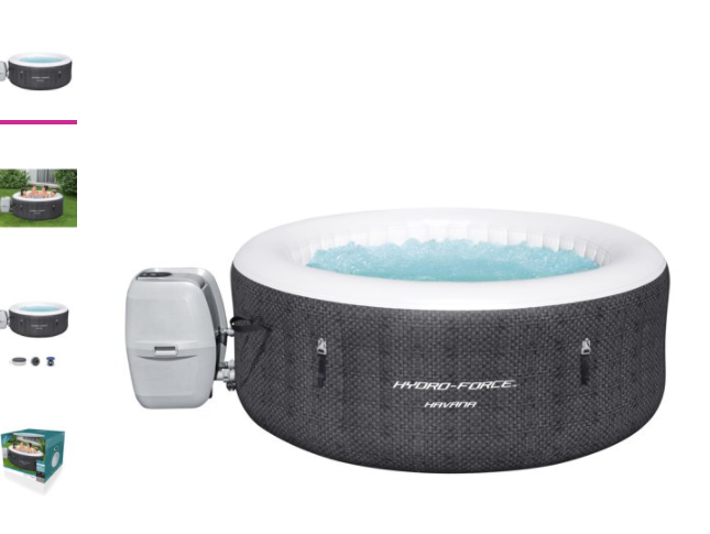 Havana Portable Hot Tub Spa