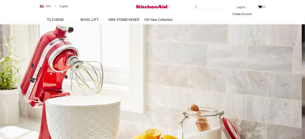 Kitchenaid Homepage Image