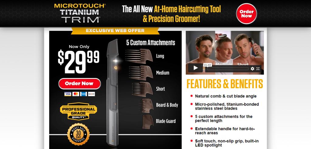 MicroTouch Titanium Trim Review