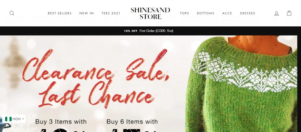 Shineandstore.com scam