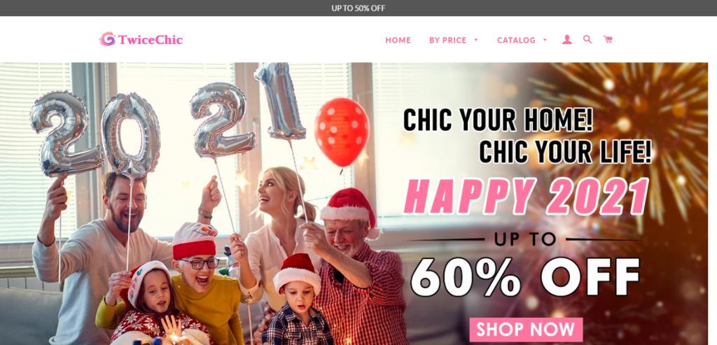 TwiceChic Homepage Image