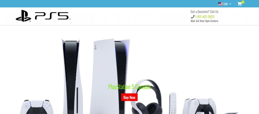 Playstationspeed.com Homepage Image