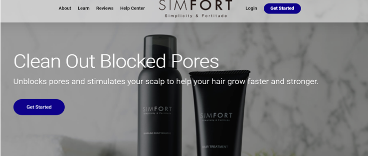 Simfort Hair Shampoo Reviews