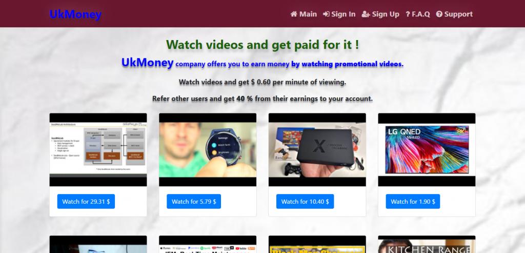 Ukmoney.xyz Homepage Image