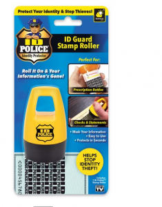 ID Police Guard Stamp Roller