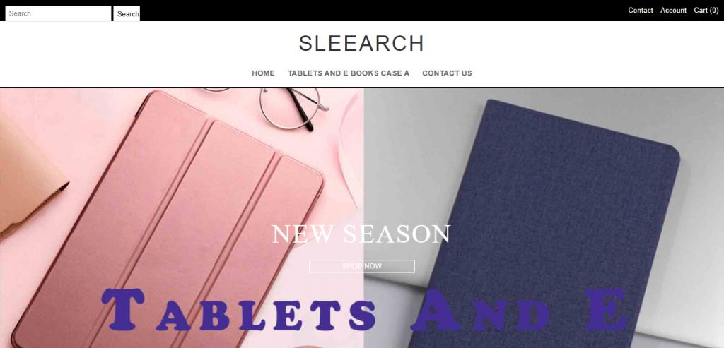 Sleearch.com Homepage