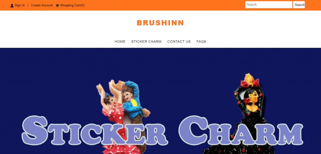 brushinn.com Homepage Image