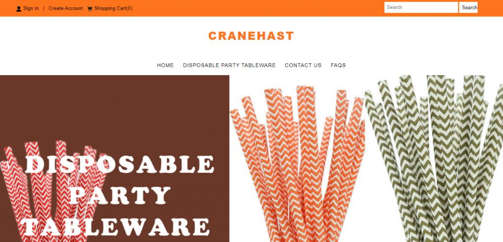 Cranehast.com Homepage Image